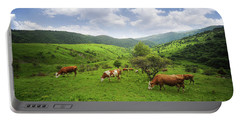 Portable Battery Charger featuring the photograph Milka by Bess Hamiti