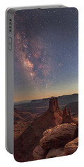 Milky Way At Twilight - Marlboro Point Portable Battery Charger