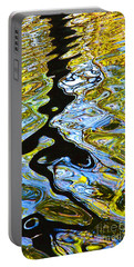 Mill Pond Reflection Portable Battery Charger by Tom Cameron