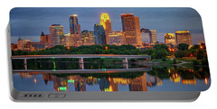 Minneapolis Twilight Portable Battery Charger