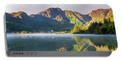 Misty Dawn Lake Portable Battery Charger