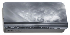 Portable Battery Charger featuring the photograph Misty Morning by Vladimir Kholostykh