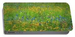 Mixed Wildflowers In Texas 538 Portable Battery Charger