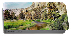 Monkey Face Rock - Smith Rock National Park Portable Battery Charger
