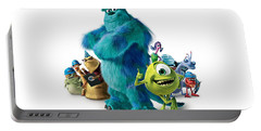 Monsters, Inc. Portable Battery Charger
