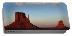 Monument Valley Sunset Portable Battery Charger