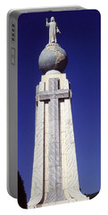 Monumento Al Divino Salvador Del Mundo Portable Battery Charger by Juergen Weiss