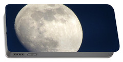 Moon In Blue Portable Battery Charger