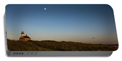 Moon Over The North Light Portable Battery Charger