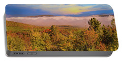 Morning Autumn Landscape Northern New Hampshire Portable Battery Charger