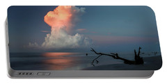 Portable Battery Charger featuring the photograph Morning Glow by Ronald Santini