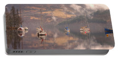 Morning Reflections Of Loch Ness Portable Battery Charger