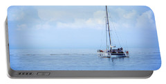 Morning Sail Portable Battery Charger by James Hammond