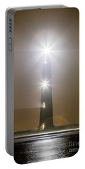 Morris Island Light House 140 Year Anniversary Lighting Portable Battery Charger