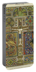 Mosaic Patterns From The Middle Ages Portable Battery Charger