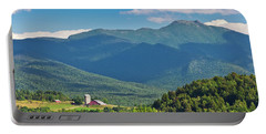 Mount Mansfield Summer Portable Battery Charger by Alan L Graham