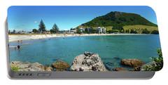 Mount Maunganui Beach 8 - Tauranga New Zealand Portable Battery Charger