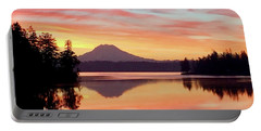 Mount Rainier Dawn Portable Battery Charger