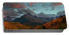 Portable Battery Charger featuring the photograph Mount Sneffels Sunset During Autumn In Colorado by Jetson Nguyen