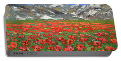 Mountain Poppies  Portable Battery Charger