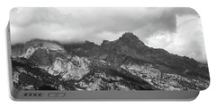 Portable Battery Charger featuring the photograph Mountain Shadows by Colleen Coccia