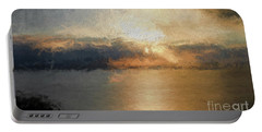 Mounts Bay Portable Battery Charger by Roger Lighterness