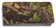 Portable Battery Charger featuring the photograph Mr Bobtail by Cassandra Buckley