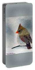 Mrs. Cardinal Portable Battery Charger