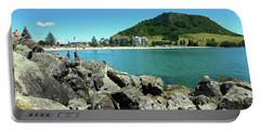 Mt Maunganui Beach 11 - Tauranga New Zealand Portable Battery Charger