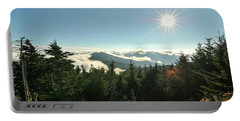 Mt Mitchell Landscape Portable Battery Charger
