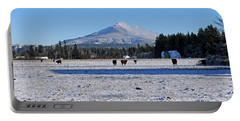 Portable Battery Charger featuring the photograph Mt. Pilchuck by Rebecca Parker
