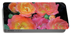 Multi-color Roses Portable Battery Charger