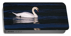 Portable Battery Charger featuring the photograph Mute Swan  by Sharon Talson