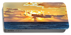 Nags Head Sunrise  Portable Battery Charger
