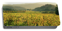 Napa Valley In Autumn Portable Battery Charger