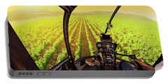 Napa Valley Scenic Flight Portable Battery Charger
