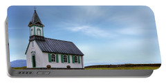 National Park Thingvellir - Iceland Portable Battery Charger