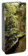 Portable Battery Charger featuring the photograph Natural Bridge  by Raymond Earley