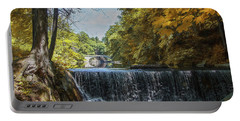 Nature's Beauty Portable Battery Charger by John Rivera