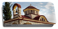 Near Nea Kios Greece Portable Battery Charger by Shirley Mitchell