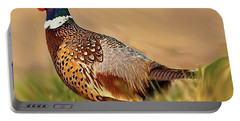 Nebraska Pheasant Portable Battery Charger
