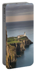 Neist Point At Sunset Portable Battery Charger