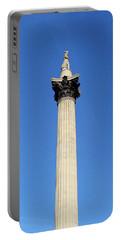 Nelsons Column, Trafalgar Square, London Portable Battery Charger