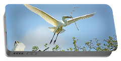 Nest Building Portable Battery Charger