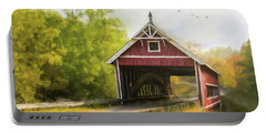 Netcher Road Covered Bridge Portable Battery Charger