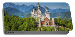 Neuschwanstein Castle Portable Battery Charger by JR Photography