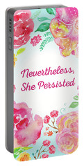 Nevertheless, She Persisted Portable Battery Charger