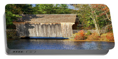 New England Covered Bridge Portable Battery Charger