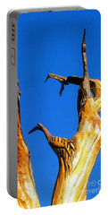 New Orleans Bird Tree Sculpture In Louisiana Portable Battery Charger by Michael Hoard