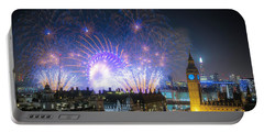 New Year Fireworks Portable Battery Charger